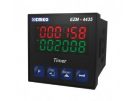 EZM-4435 Tek Setli Programlanabilir Zaman Rölesi