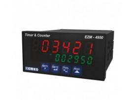 EZM-4950 RS 232/485 Seri Haberleşme Birimi ile Çok Fonksiyonlu Programlanabilir Zaman Rölesi ve Sayıcı