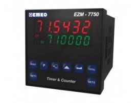 EZM-7750 RS 232/485 Seri Haberleşme Birimi ile Çok Fonksiyonlu Programlanabilir Zaman Rölesi ve Sayıcı