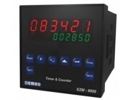 EZM-9950 RS 232/485 Seri Haberleşme Birimi ile Çok Fonksiyonlu Programlanabilir Zaman Rölesi ve Sayıcı