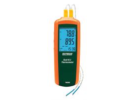 Extech TM 300 K/J çift girişli termometre