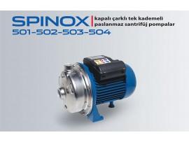 SPINOX 501-502-503-504 PASLANMAZ SANTRİFÜJ POMPA