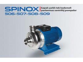 SPINOX 506-507-508-509 PASLANMAZ SANTRİFÜJ POMPA