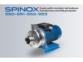 SPINOX 550-551-552-553 PASLANMAZ SANTRİFÜJ POMPA